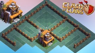Best BH4 Base Layout Anti Giant Anti Archer Anti Dragon + REPLAY Clash Of Clans New Update