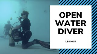 Базовый курс обучения дайвингу - Урок 5 - Open Water Diving OWD