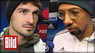 Anderlecht vs Bayern München - Boateng und Hummels sind nicht happy