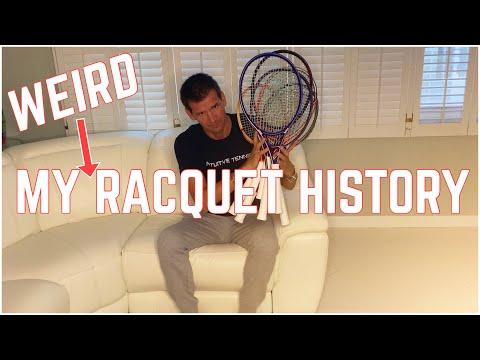 My Tennis Racquet History