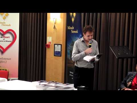 Launch of Ian Patrick's first book, 'Of Course!', at the ACIM Conference 2012 in Solihull