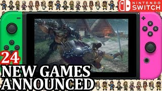 24 New Switch Games ANNOUNCED for Week 2 July 2018 | Nintendo News