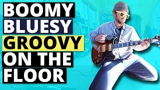 Boomy bluesy groovy on the floor (360° Music Video)