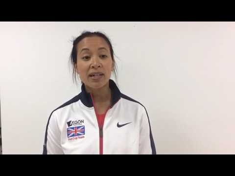 Anne Keothanvong interview after Great Britain