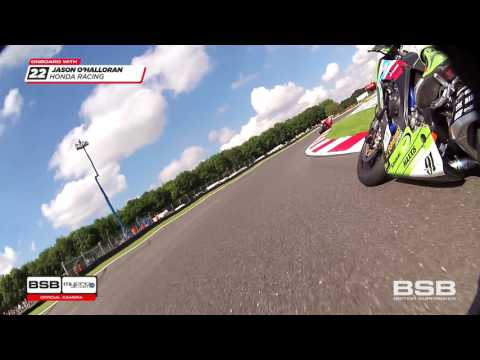 ONBOARD: 2016 MCE BSB RD8 Cadwell Park - Race one action!