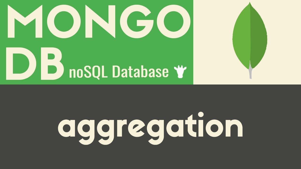 Aggregation   MongoDB   Mike Dane