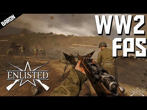 WW2 Shooter!  ENLISTED, Gaijin's First Person Shooter