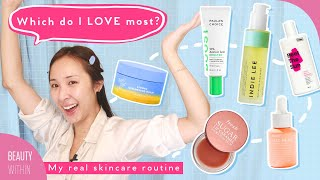 ☀️Day + Night 🌙Skincare Routine For Oily, Acne-Prone Skin & Sensitive Skin | Felicia Off-Duty