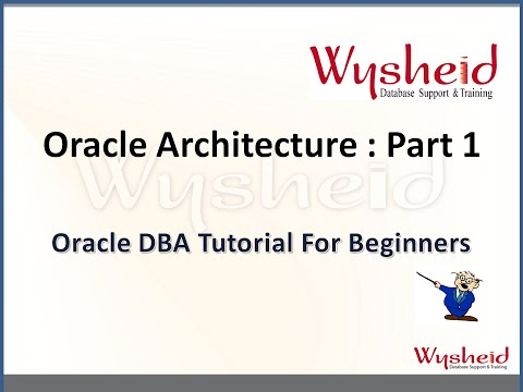 Oracle Database Architecture part 1 | Oracle Tutorial For Beginners | Oracle DBA Training
