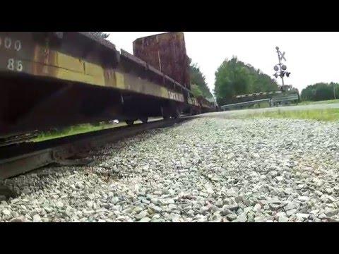 Train, Rail Freight Cars  Sounds