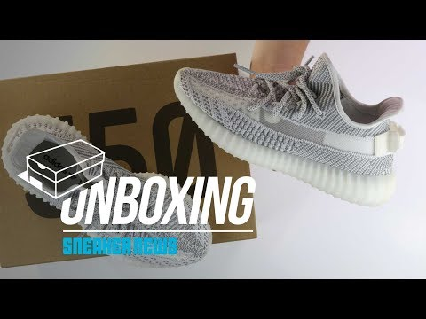 """NEW Yeezy 350 Boost V2 """"Static"""" Unboxing + Review #teamearly"""