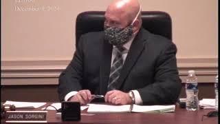 December 3, 2020 Lower Providence Township Board of Supervisors
