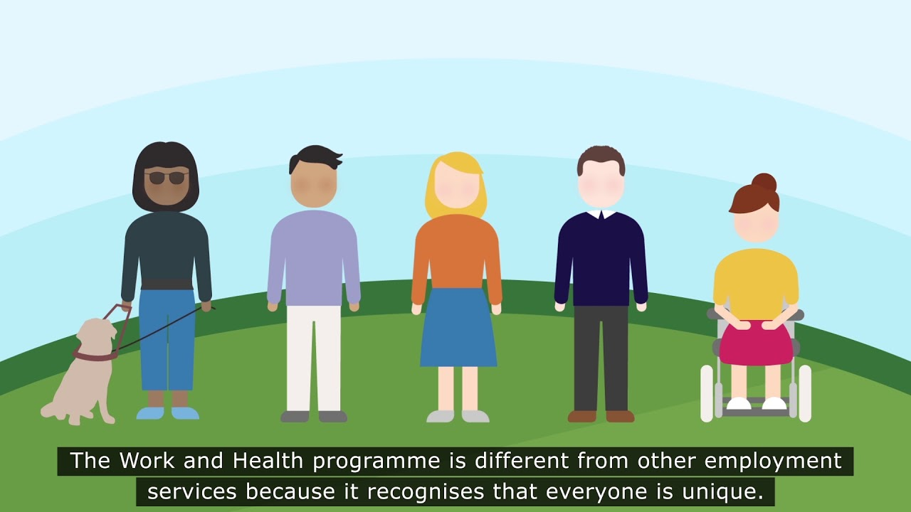 Image result for work and health programme cartoon