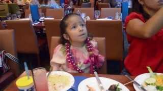 Mermaid Dinner at Oceanarium Restaurant Pacific Beach Hotel Waikiki, HI