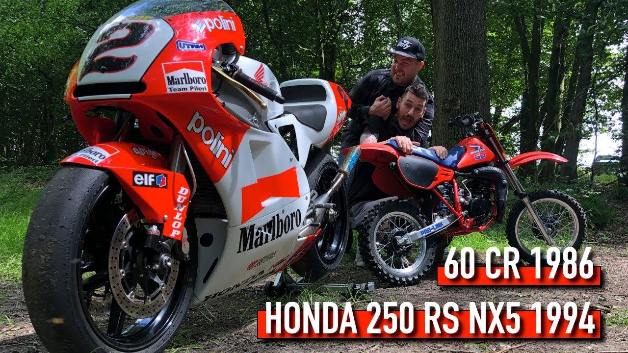 🔥🔥AutonMoton-Une HONDA 250 RS NX5 1994 100 chevaux ?Ainsi qu'une 60 CR 1986 !🔥🔥Feat L'Atelier 216 !