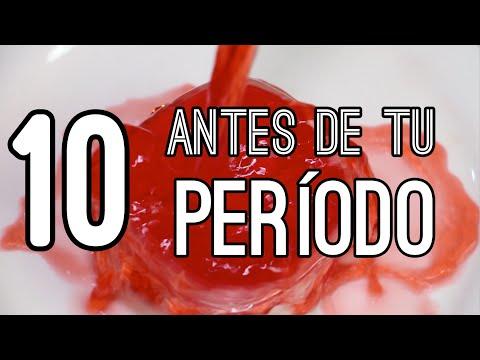 Antes de tu periodo | TOP 10