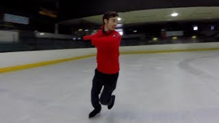 HOW TO DO A 1 FOOT SPIN | FIGURE SKATING ❄️❄️