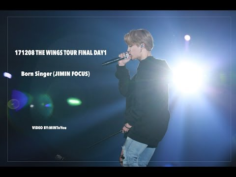 171208 THE WINGS TOUR FINAL Born Singer JIMIN FOCUS