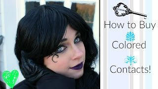 Where to Buy Colored Contacts for Cosplay | #Halloween Costumes | Alternative Fashion