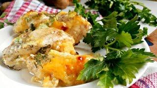 Куриная грудка в духовке с сыром и чесноком. Куриное филе в сметанном соусе рецепт [Вкусная находка]