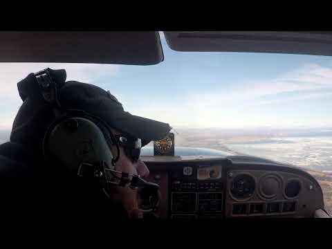 Flight from Bay City to Oscoda Wurtsmith