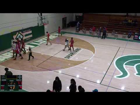 Martin Luther vs. The Prairie School Varsity Mens' Basketball