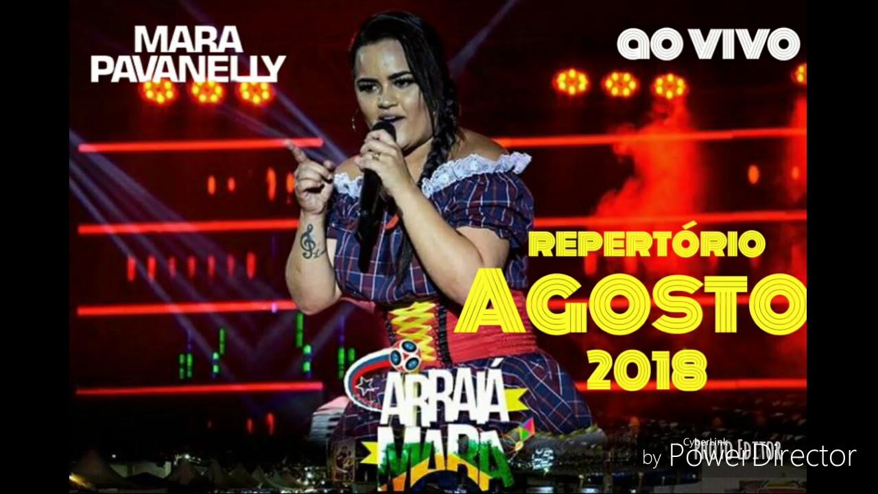 MARA PAVANELLY - REPERTÓRIO NOVO 2018 ao vivo