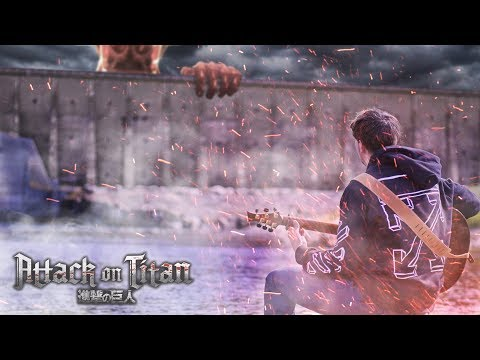 Attack on Titan Season 3 OP  Red Swan  Fingerstyle Guitar