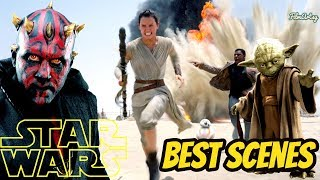 Star Wars - Best Scenes from All the Movies | Daisy Ridley 2019