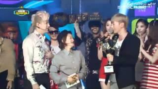 120710 Show Champion - Super Junior No. 1 ^^ (Leeteuk & Shindong)