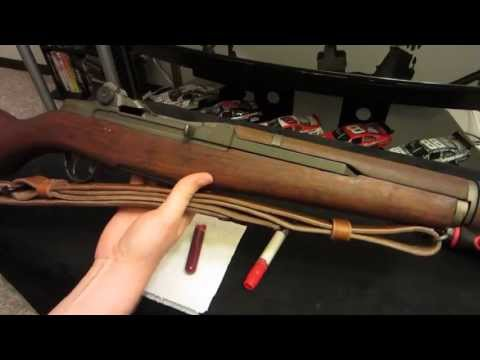 How To Grease Your M1 Garand!