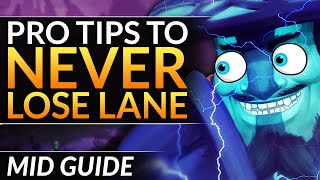 How to WIN EVERY LANE  PRO Tips and Tricks to ABUSE as Midlane Storm Spirit  Dota 2 Guide