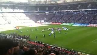 Schalke gegen Borussi Mönchengladbach