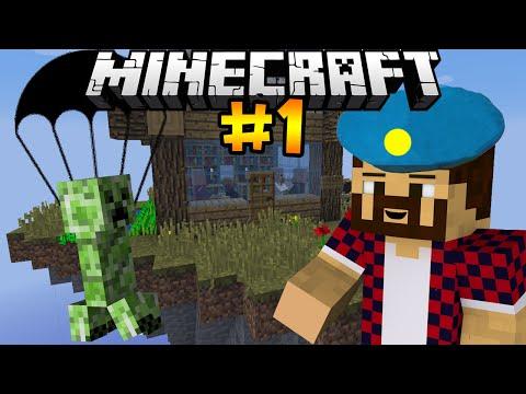 КРИПЕР ДЕСАНТНИК - Minecraft   День Выживания # 1