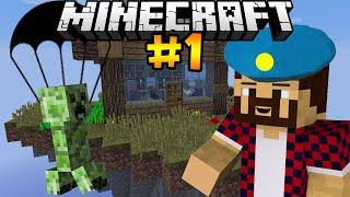 КРИПЕР ДЕСАНТНИК - Minecraft | День Выживания # 1(Играем на карте от подписчика, под названием