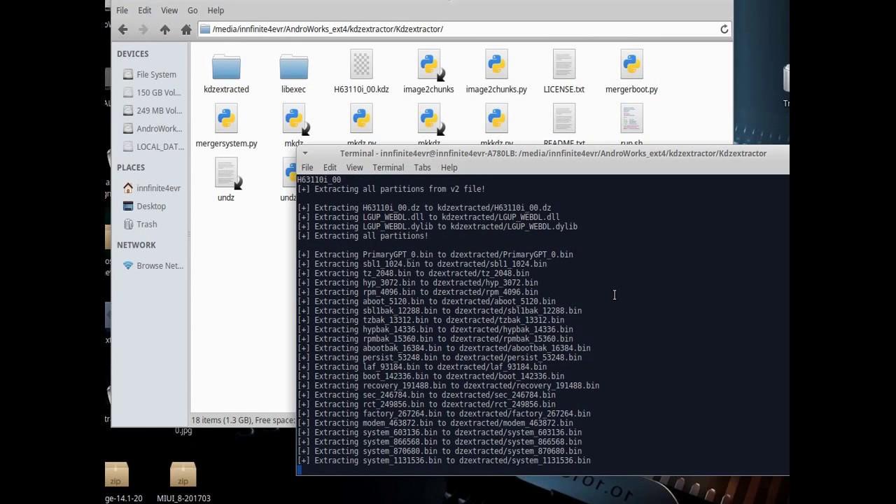 ็How to Extract Firmware KDZ,system img For LG Devices on linux