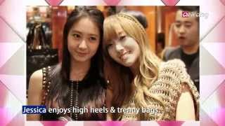 Showbiz Korea - Fashion Styles of Jessica & Krystal 걸리쉬 제시카 vs 시크 크리스탈