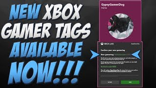 Get New Xbox Gamer Tags Early | New Discord like Gamer Tags