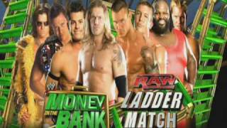 WWE Money In The Bank 2010  Match Card