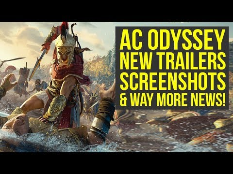 Assassin's Creed Odyssey New Game Plus CONFIRMED, New Trailers & More! (AC Odyssey Trailer) thumbnail