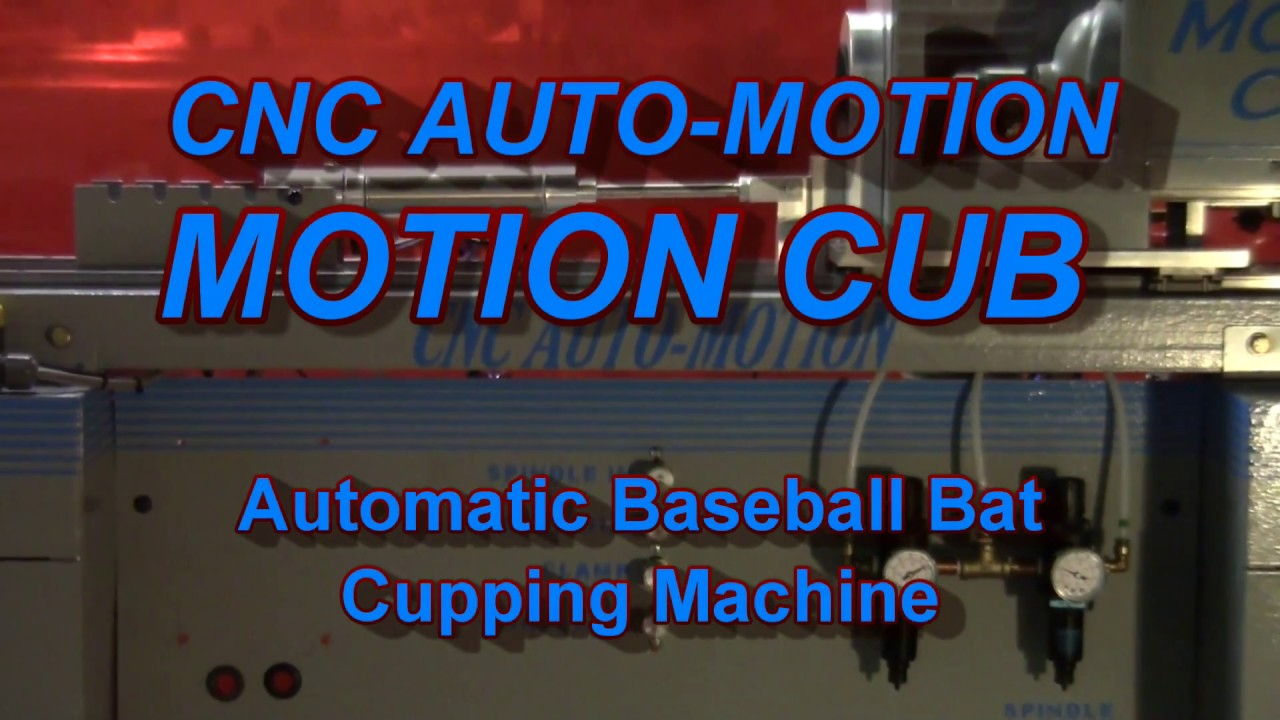 MotionCub Automatic Baseball Bat Cupping Machine