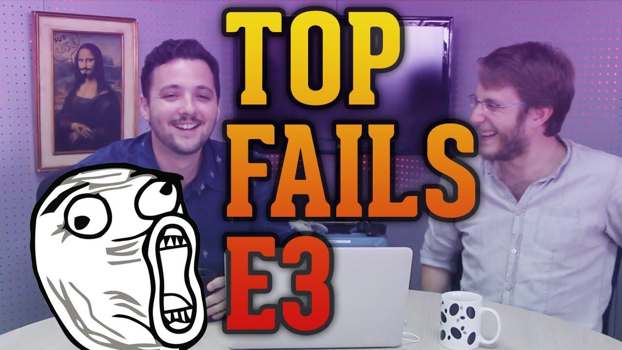Especial Top FAILS: Conferencias de videojuegos - WELL BAM