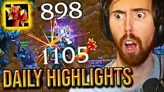 Asmongold BLOWN AWAY By Cdews Legendary Sulfuras ONE SHOT & More - Classic WoW