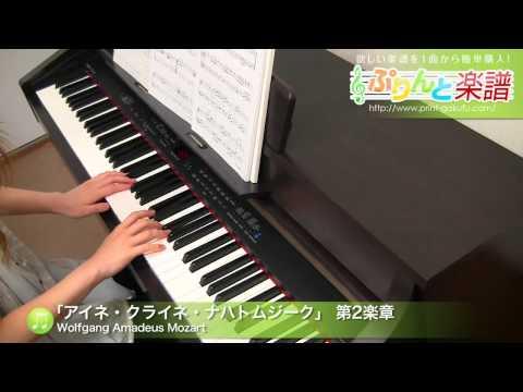 セレナード第13番 「アイネ・クライネ・ナハトムジーク」 第2楽章 Wolfgang Amadeus Mozart