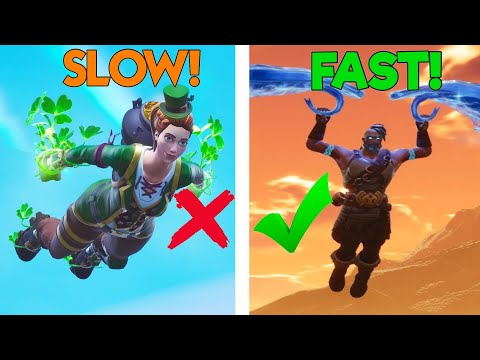 How To LAND FASTER Every Game In Season 8! (Fortnite Landing Guide PS4/XBOX/PC/MOBILE)