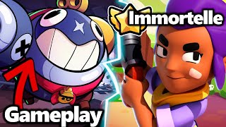 [EXCLU] GAMEPLAY TICK & SHELLY IMMORTELLE AVEC SON NOUVEAU STAR POWER !?! BRAWL STARS