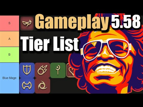 5.58 Tier List | Job's Gameplay/Enjoyment Ranking for FFXIV