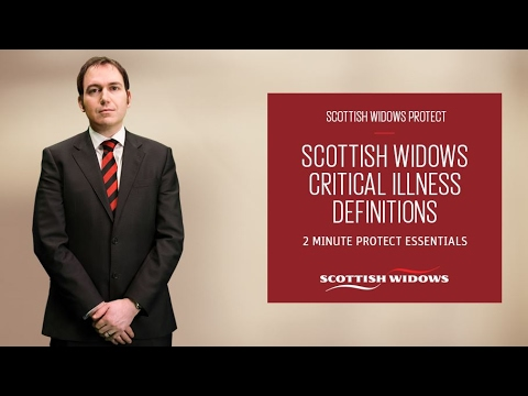 Scottish Widows - Critical Illness Definitions