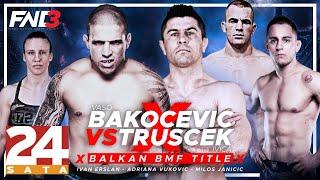 FNC 3 SPEKTAKL: Vaso Bakočević vs. Ivica Trušček | FULL EVENT