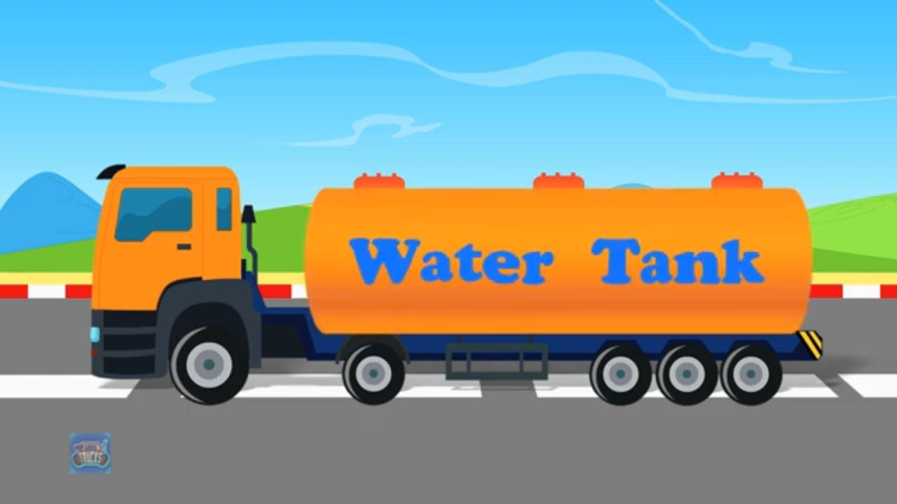 Water Tank | Formation & Uses | Kids Street Vehicles | Car & Trucks for Children Videos